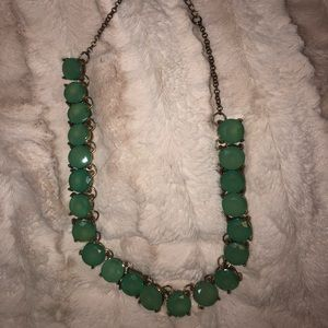 Green Jewel Necklace